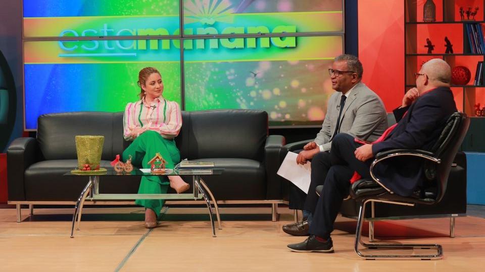 Gloria Reyes entrevista Esta Mañana