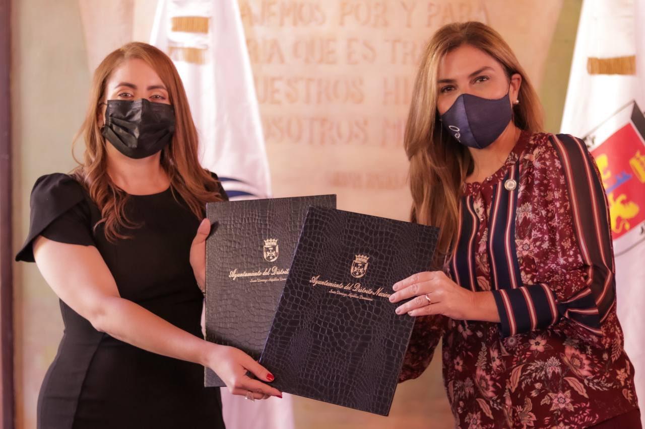 Prosoli y el Ayuntamiento del DN firman acuerdo en busca de mejorías para su gente