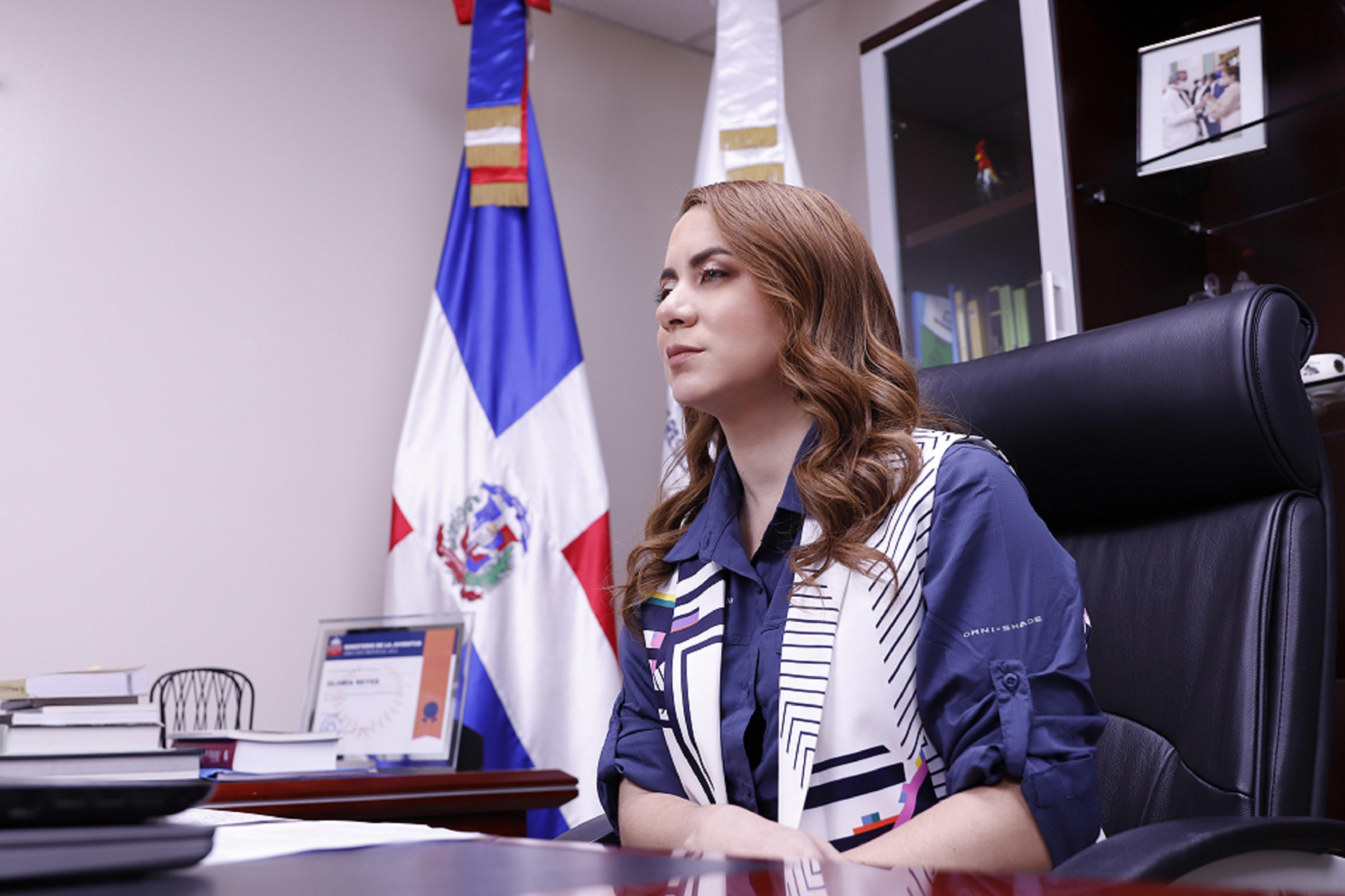 Gloria Reyes, directora general de Progresando con Solidaridad