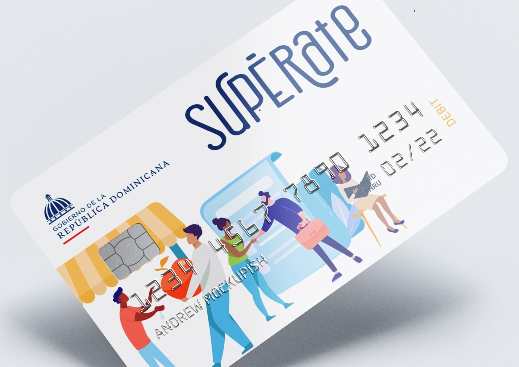 Nueva tarjeta Supérate