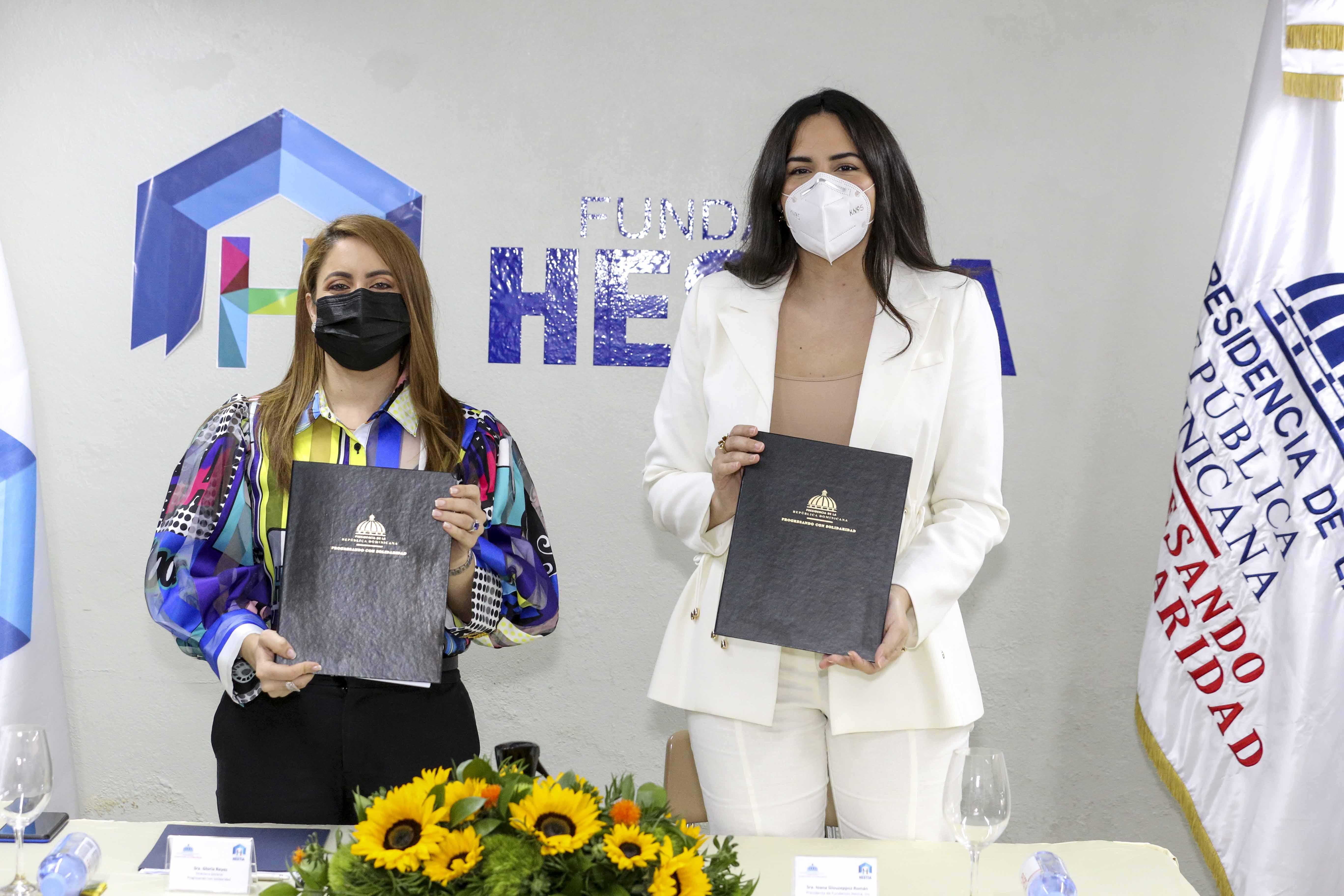 Prosoli y Fundación Hestia firman acuerdo para apoyar la comunidad de Los Girasoles