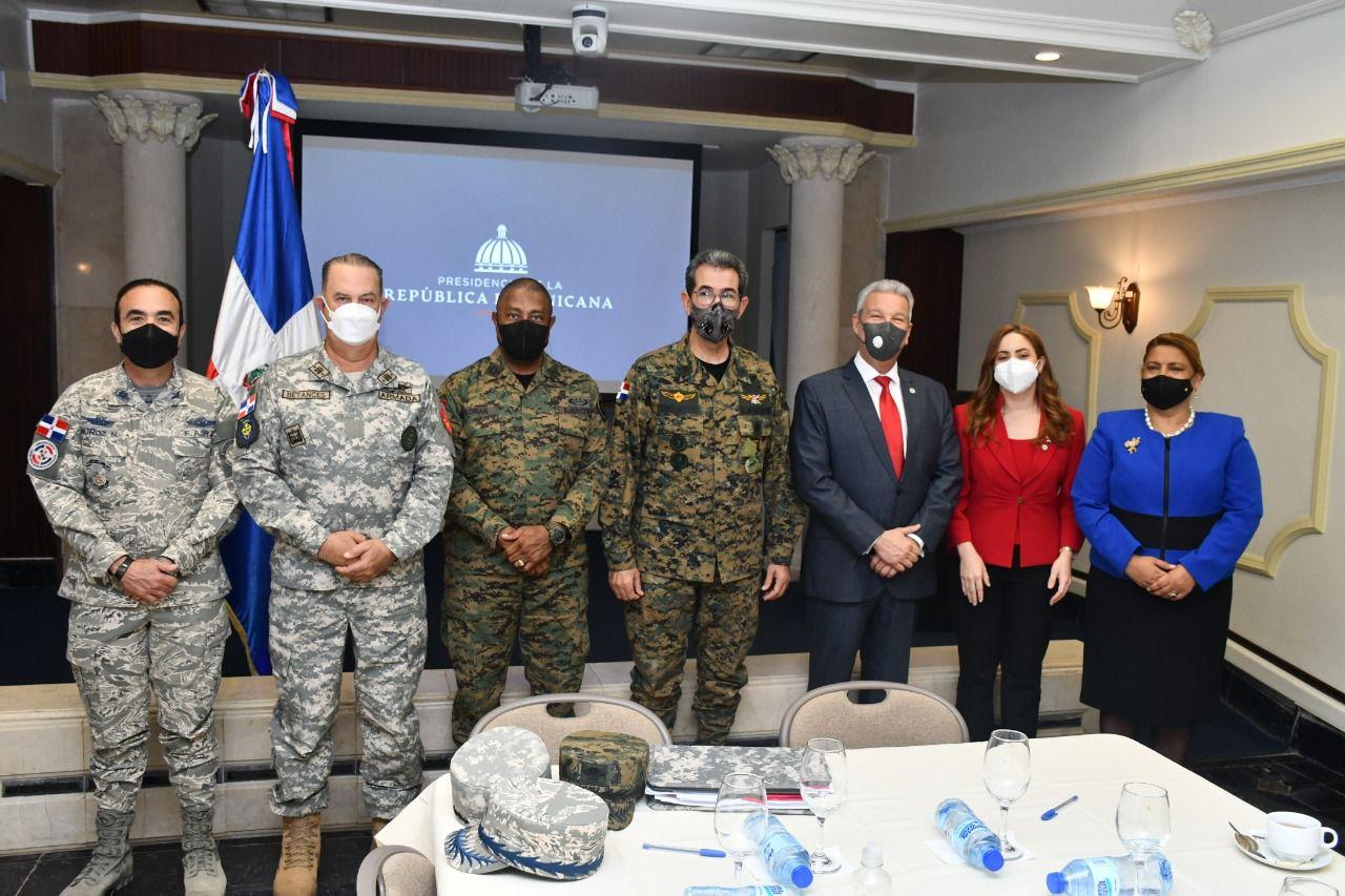 Militares son incluidos en el Plan Nacional de vivienda Feliz