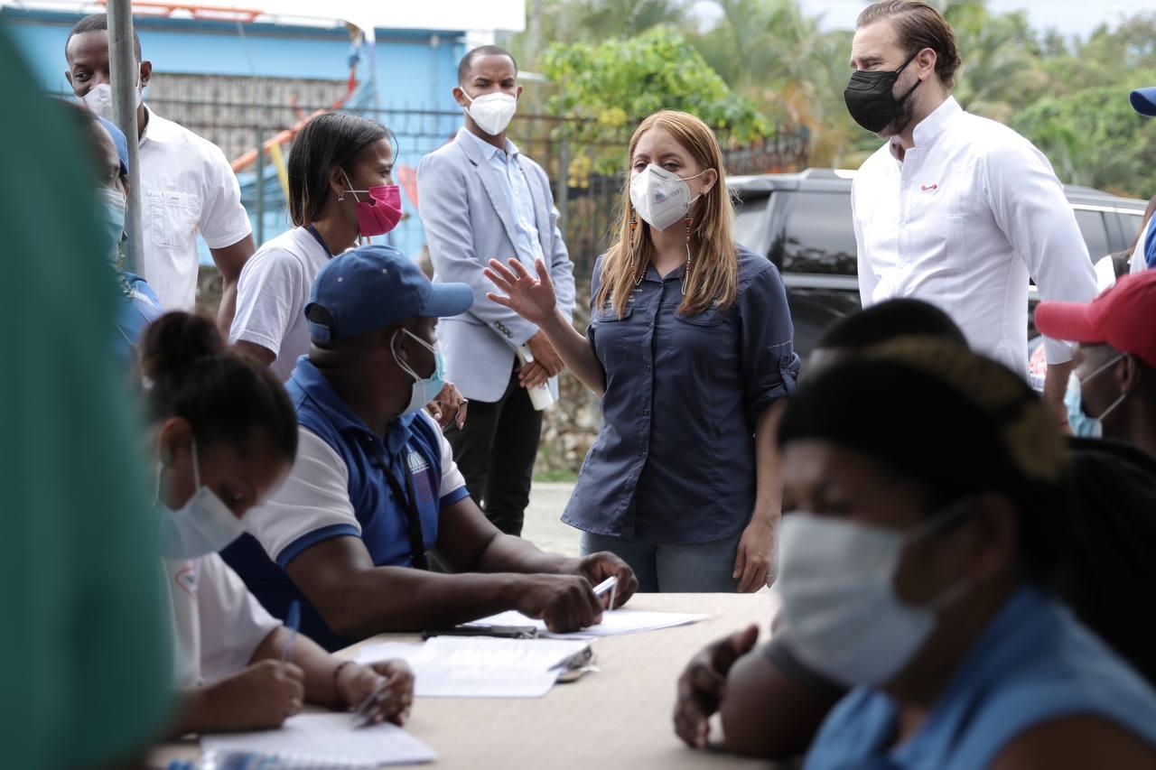 Directora de Prosoli califica como exitosa jornada especial de vacunación