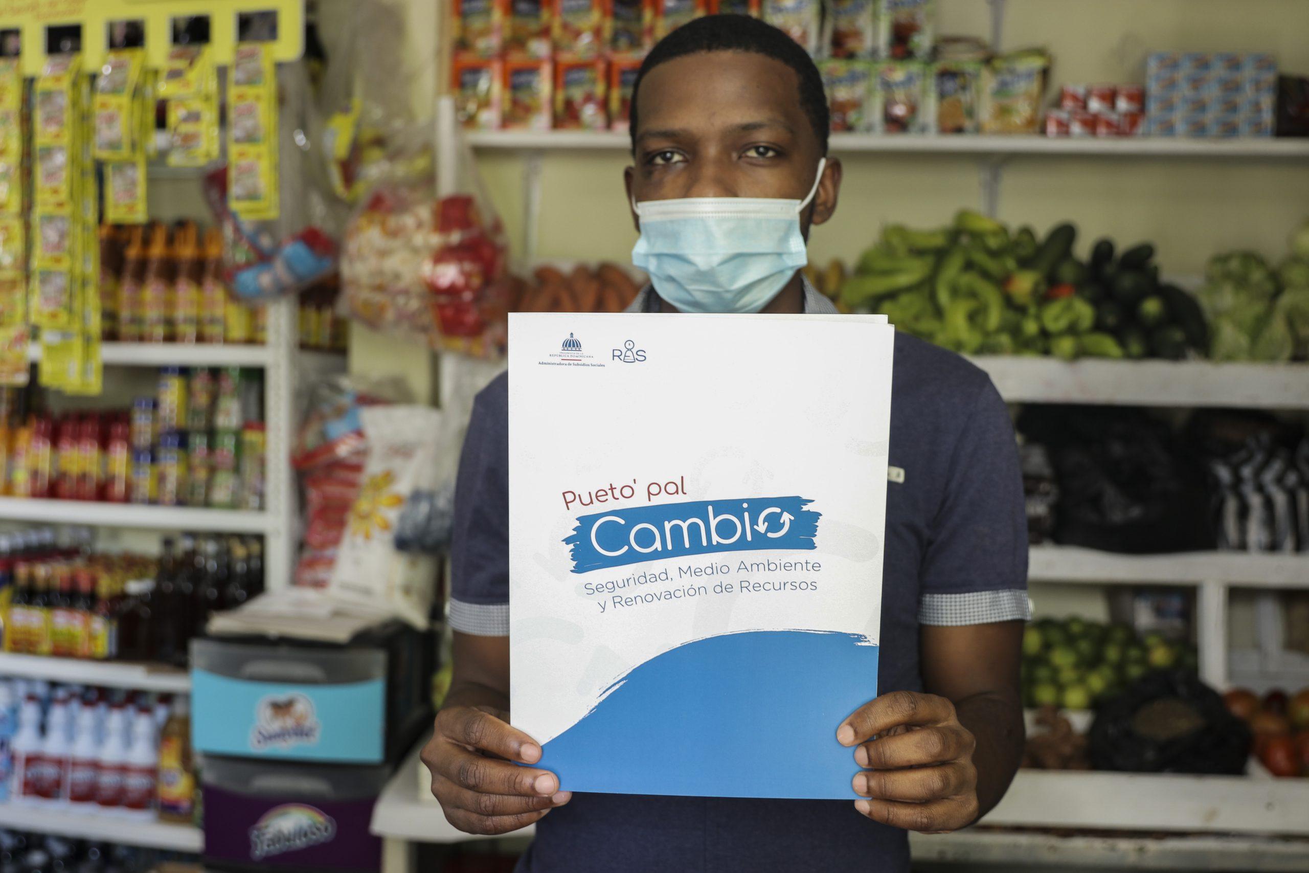 Pueto' Pal Cambio' transformará los pequeños comercios dominicanos